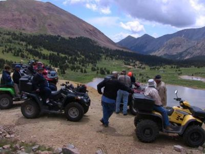 ATving on Mosquito Pass 2010